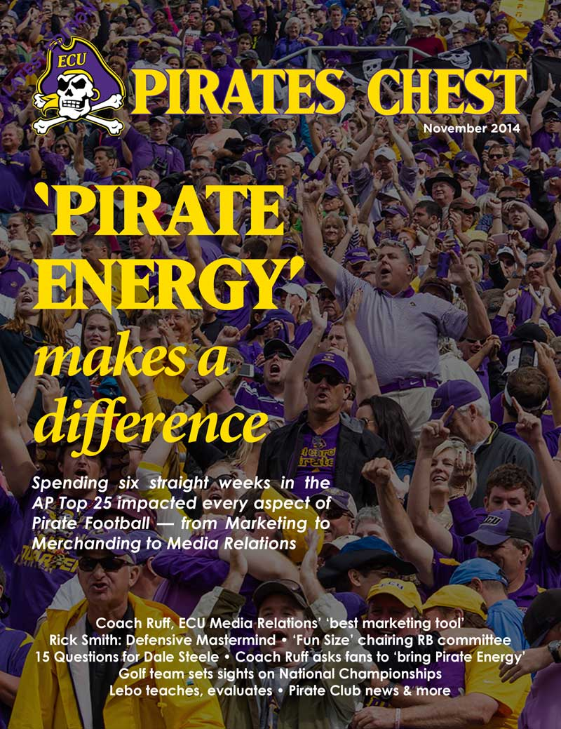 November 2014 Pirates' Chest